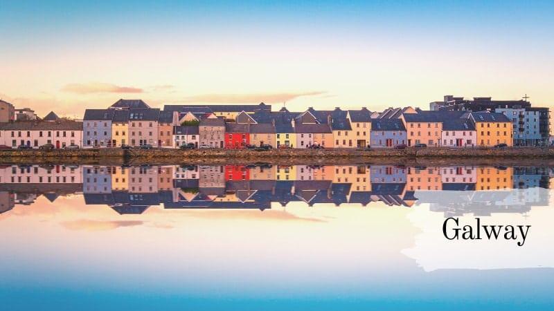 مدينة غالواي ، أيرلندا