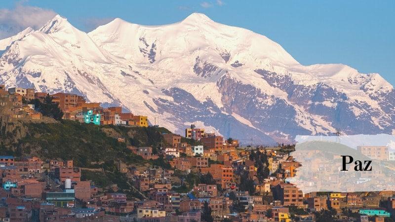 مدينة لاباز ، بوليفيا